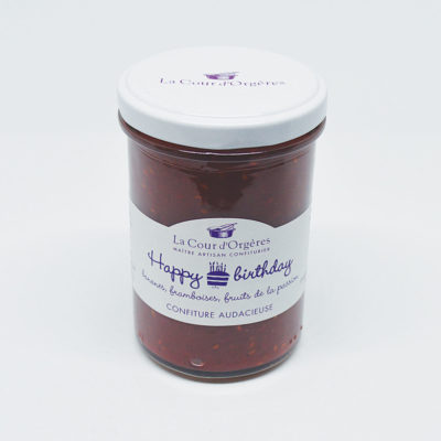 Confiture de la Cour d'Orgères - Happy Birthday