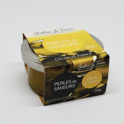Le fumoir de St-Cast présente les Perles de Saveurs Citron -Christine Le Tennier