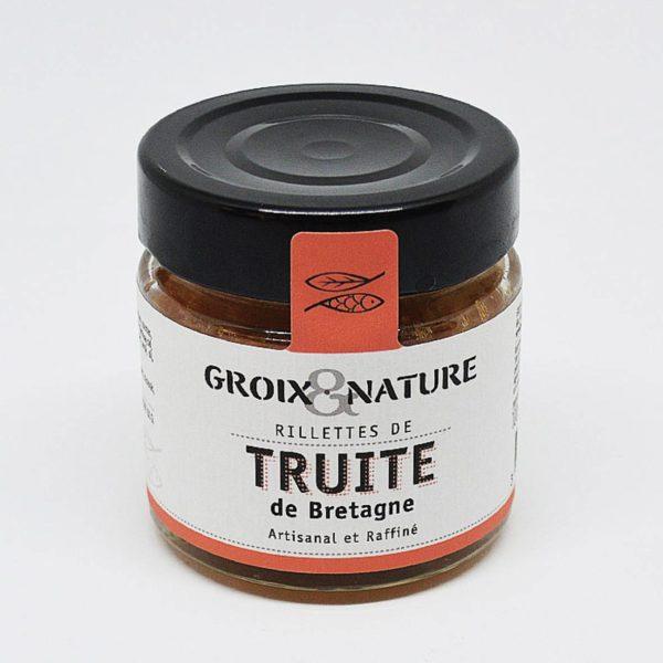 Le Fumoir de St-Cast présente les Rillettes de truite - Groix et Nature
