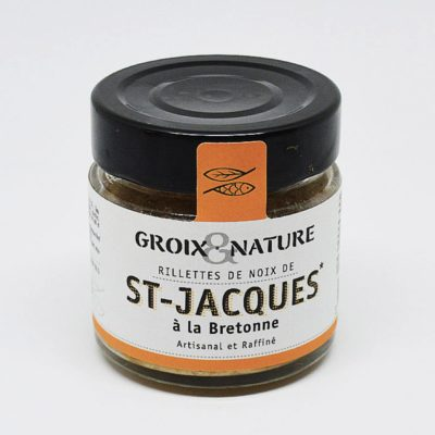 Le Fumoir de St-Cast présente les Rillettes de St-Jacques à la Bretonne - Groix et Nature