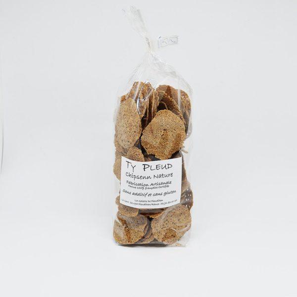Le Fumoir de Saint-Cast vous propose la chips de sarasin de Ty Pleud aux algues