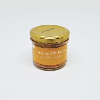 Le Fumoir de Saint-Cast présente la terrine de poulet aux tomates confites de Olivier