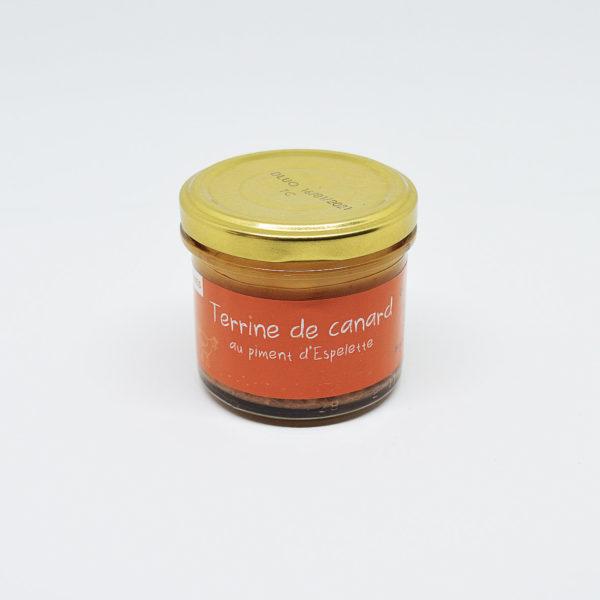 Le Fumoir de St-Cast présente la Terrine de Canard au Piment d'Espelette - Olivier Hendaye