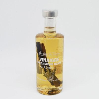 Le fumoir de St-Cast présente le Vinaigre balsamique blanc au Kombu -Christinne Le Tennier