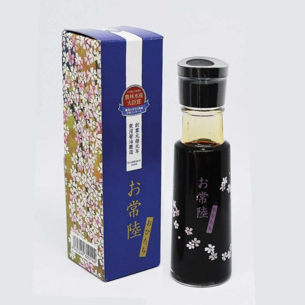 Le fumoir de St-Cast présente la Sauce soja premium Ohitachi -Terre Exotique