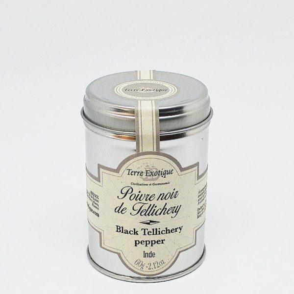 Le fumoir de St-Cast présente le poivre de Tellichery- Terre Exotique