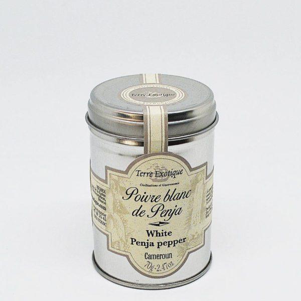Le fumoir de St-Cast présente le poivre blanc de Penja - Terre Exotique