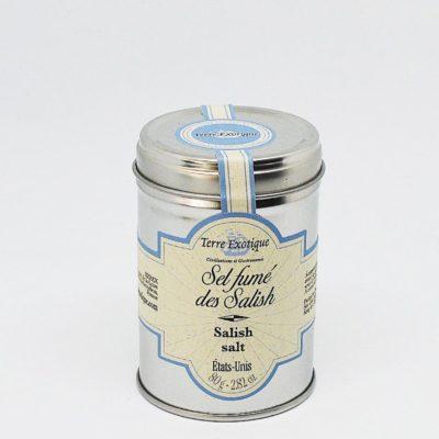 Le fumoir de St-Cast présente le Sel fumé des Salish- Terre Exotique