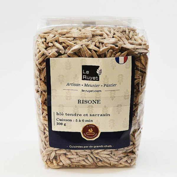Le fumoir de St-Cast présente le Risone blé tendre et sarrasin - Le Ruhet
