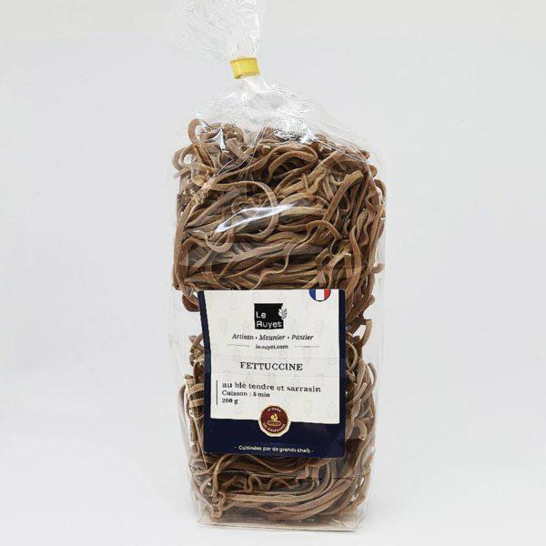 Le fumoir de St-Cast présente lesFetuccine au blé tendre et sarrasin - Le Ruhet