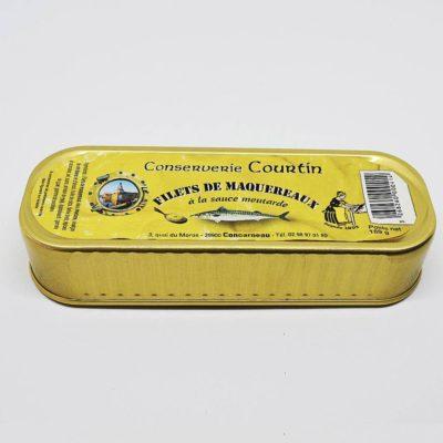 Le fumoir de St-Cast présente les Filets de Maquereaux à la moutarde- La Conserverie de Courtin
