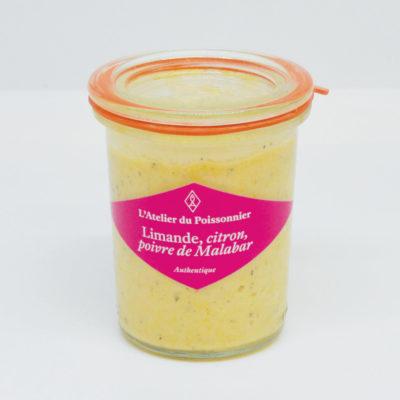 Le Fumoir de St-Cast présente les rillettes de limande, citron, poivre de Malabar