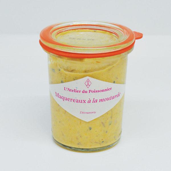 Le Fumoir de St-Cast présente les rillettes de maquereaux moutarde