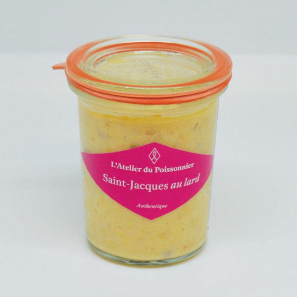 Le Fumoir de St-Cast présente les rillettes de Saint Jacques au lard