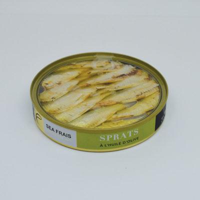 Le Fumoir de Saint-Cast vous présente les Sprats à l'huile d'olive