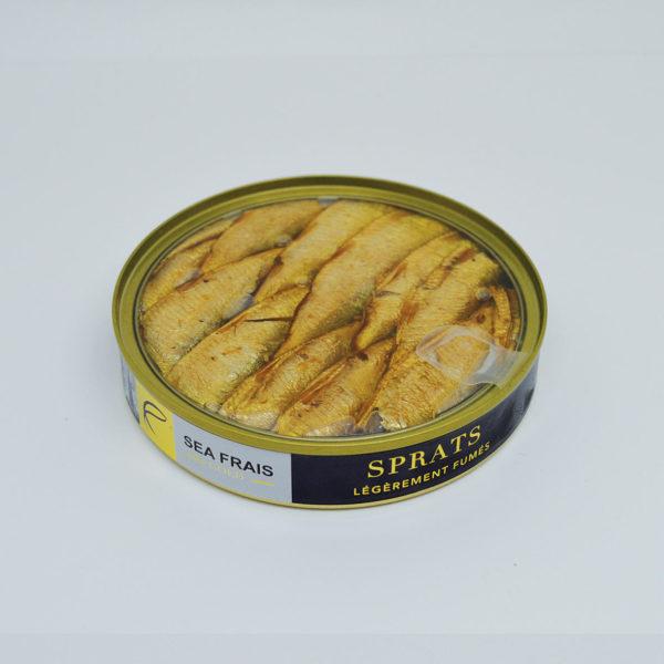 Le Fumoir de Saint-Cast vous présente les Sprats délicatement dumés
