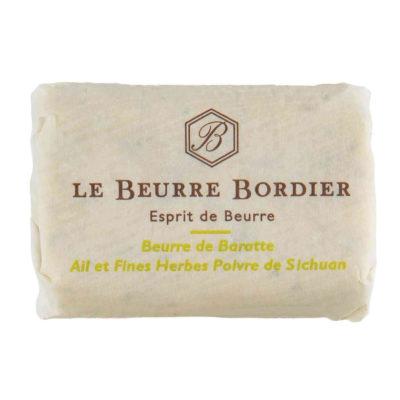 Le Fumoir de Saint-Cast vous présente le beurre Ail et Fines Herbes Poivre de Sichuan