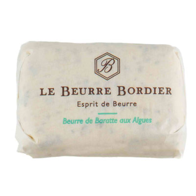 Le Fumoir de Saint-Cast vous présente le beurre Bordier aux algues 125g