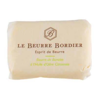 Le Fumoir de Saint-Cast vous présente le beurre à l'Huile d'Olive Citronnée