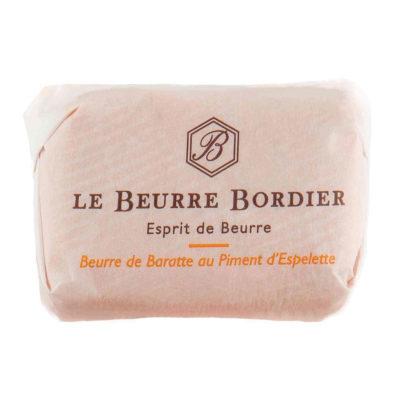 Le Fumoir de Saint-Cast vous présente le beurre Bordier au Piment d'Espelette 125g