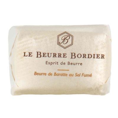 Le Fumoir de Saint-Cast vous présente le beurre Bordier au sel fumé 125g