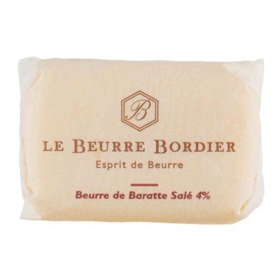Le Fumoir de Saint-Cast vous présente le beurre Bordier de Baratte salé 125g