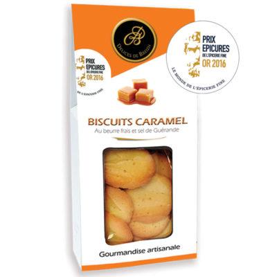 Le Fumoir de Saint- Cast présente les biscuits au Caramel et beurre salé Délices de Breizh