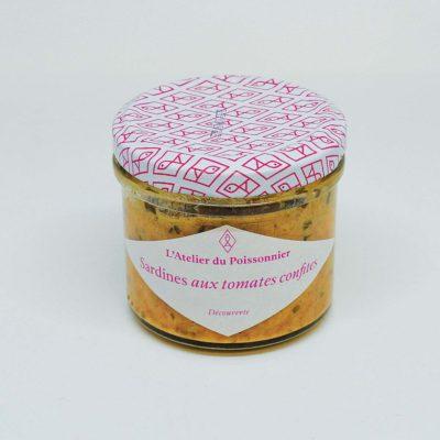 Le Fumoir de St-Cast présente les rillettes de sardines aux tomates confites