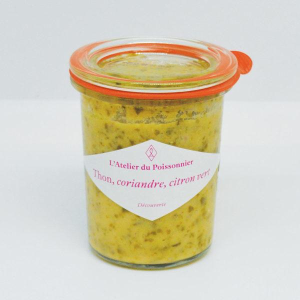 Le Fumoir de St-Cast présente les rillettes de thon coriandre et citron vert