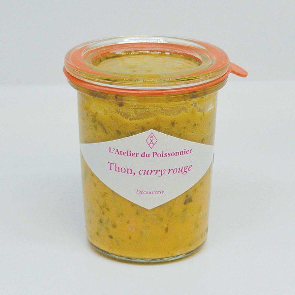 Le Fumoir de St-Cast présente les rillettes de thon curry rouge