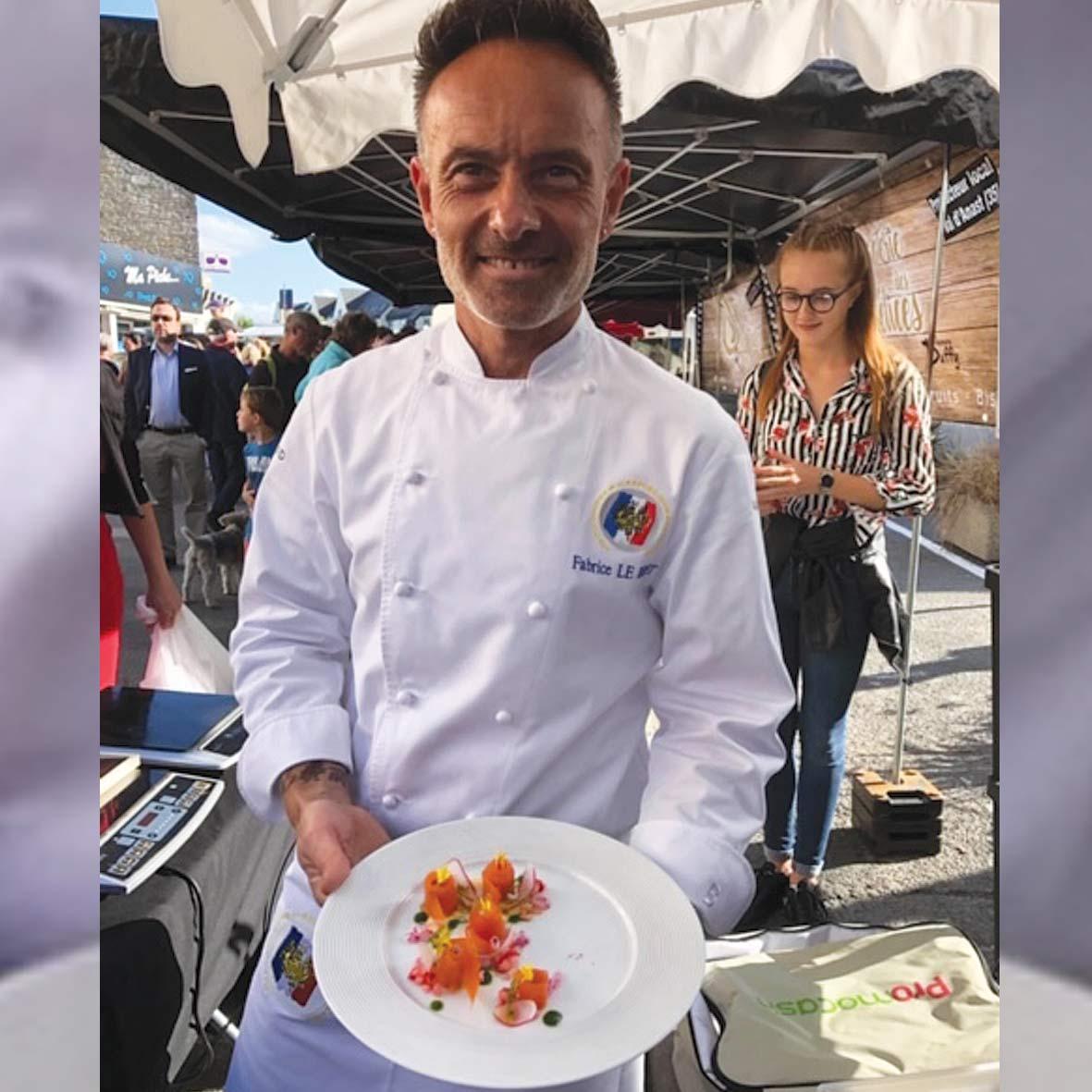 Le Fumoir de St -Cast vous propose cette délicieuse recette préparée par le Chef Fabrice Le Bret