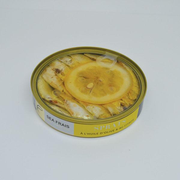 Le Fumoir de Saint-Cast présente les Sprats au citron