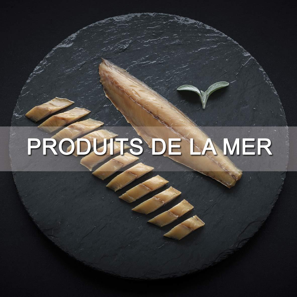 Le Fumoir de Saint-Cast vous présente ses produits d'épicerie fine salés : Produits de la mer
