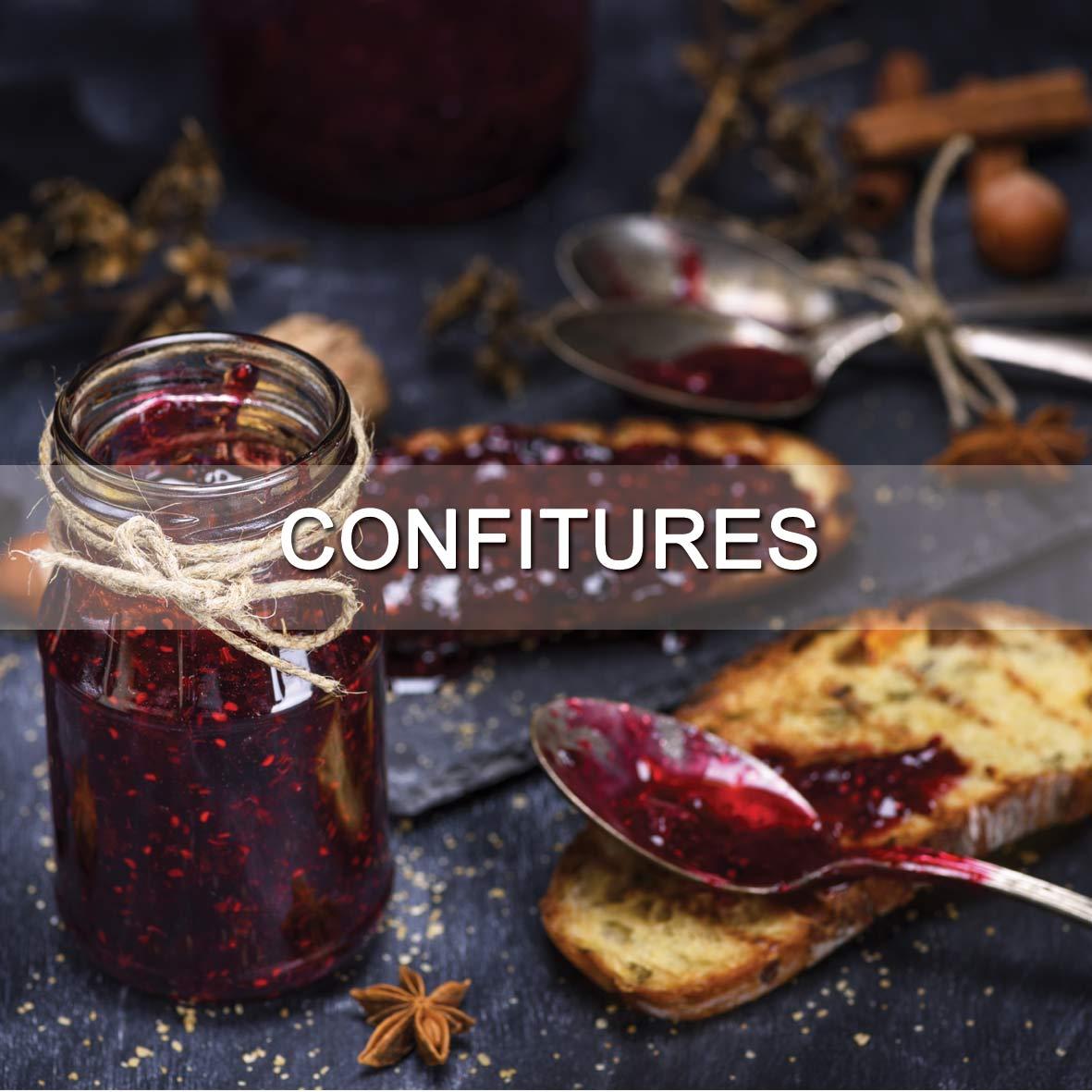 Le Fumoir de Saint-Cast vous présente ses produits d'épicerie fine sucrées : confitures