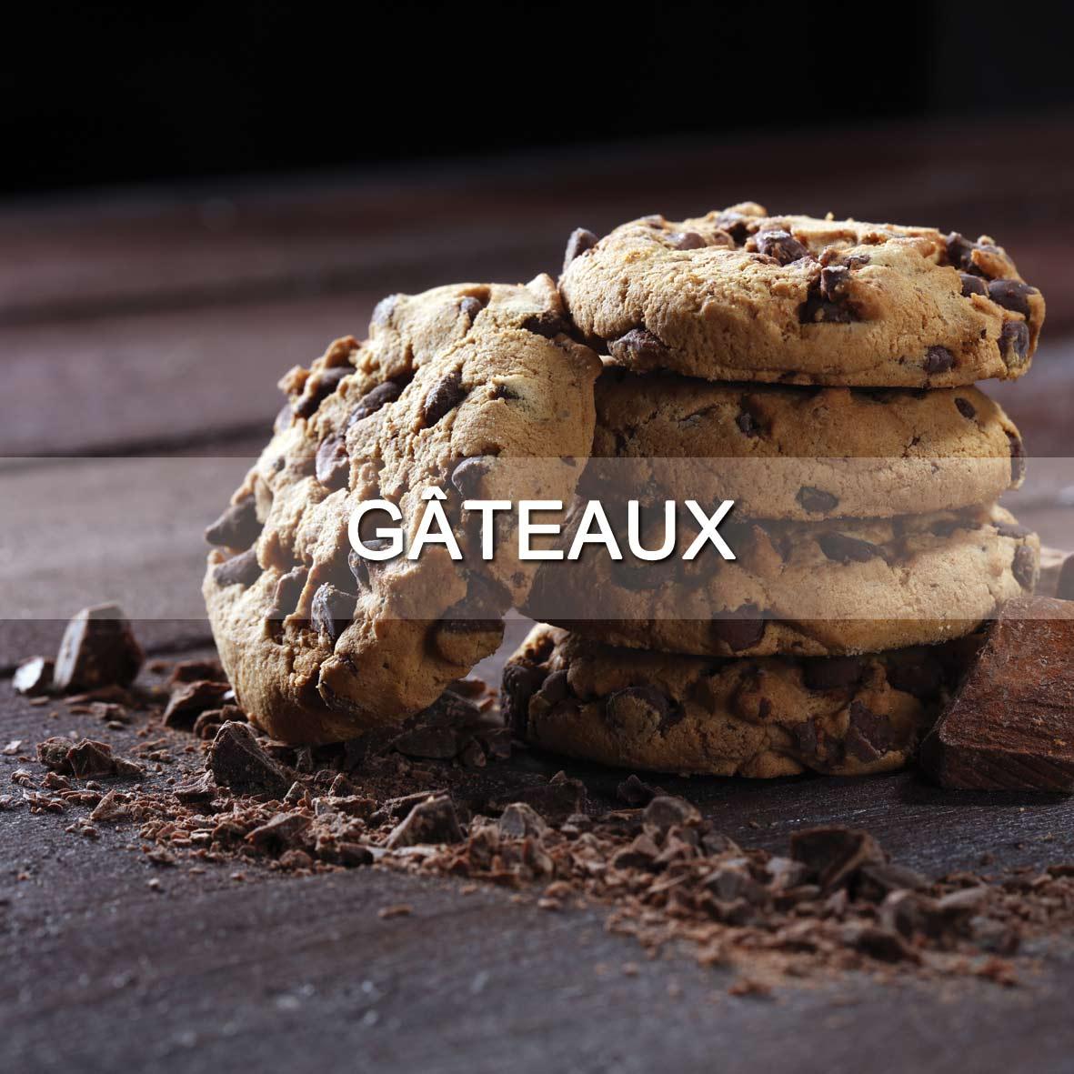 Le Fumoir de Saint-Cast vous présente ses produits d'épicerie fine sucrées : Gâteaux