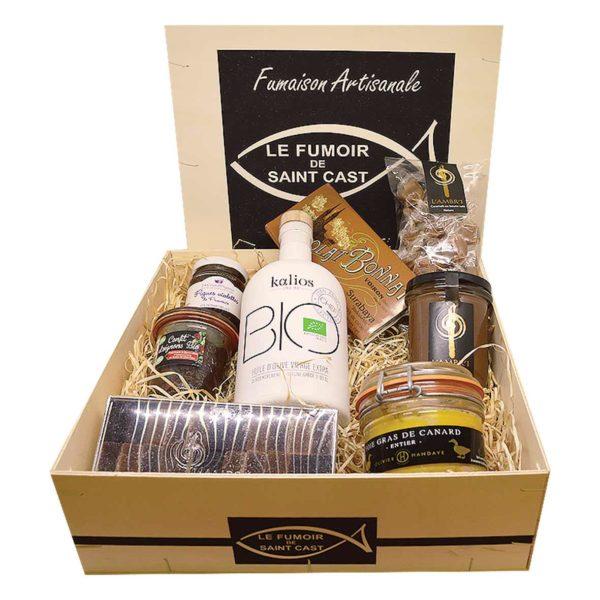 Découvrez les coffrets cadeau du Fumoir de St-Cast