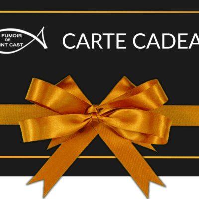 Offrez une carte Cadeau pour vos proches et permettez-leur de commander sur notre site !